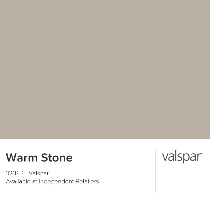 Warm Stone From Valspar This Is The