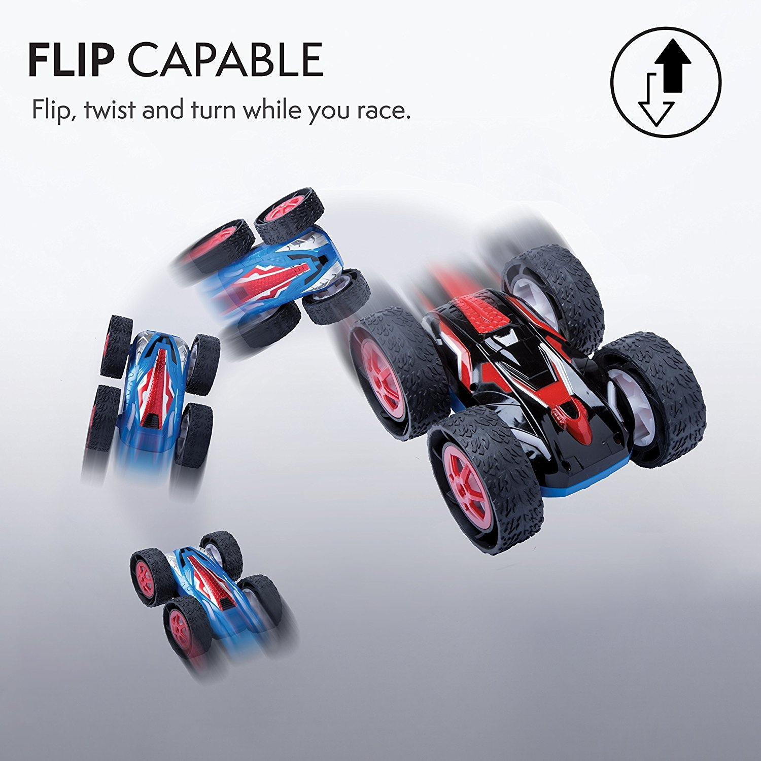Cyclone Double Sided Flipping RC Car Radio controlled boats