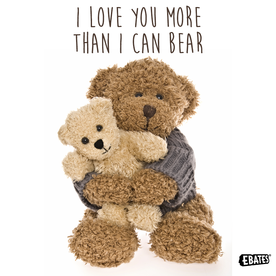 Funny I Love You More: I Love You More Than I Can Bear! #Puns