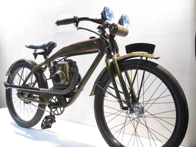 Modeled after 1930 D Series Harley (2) by Phantom Bikes, via Flickr