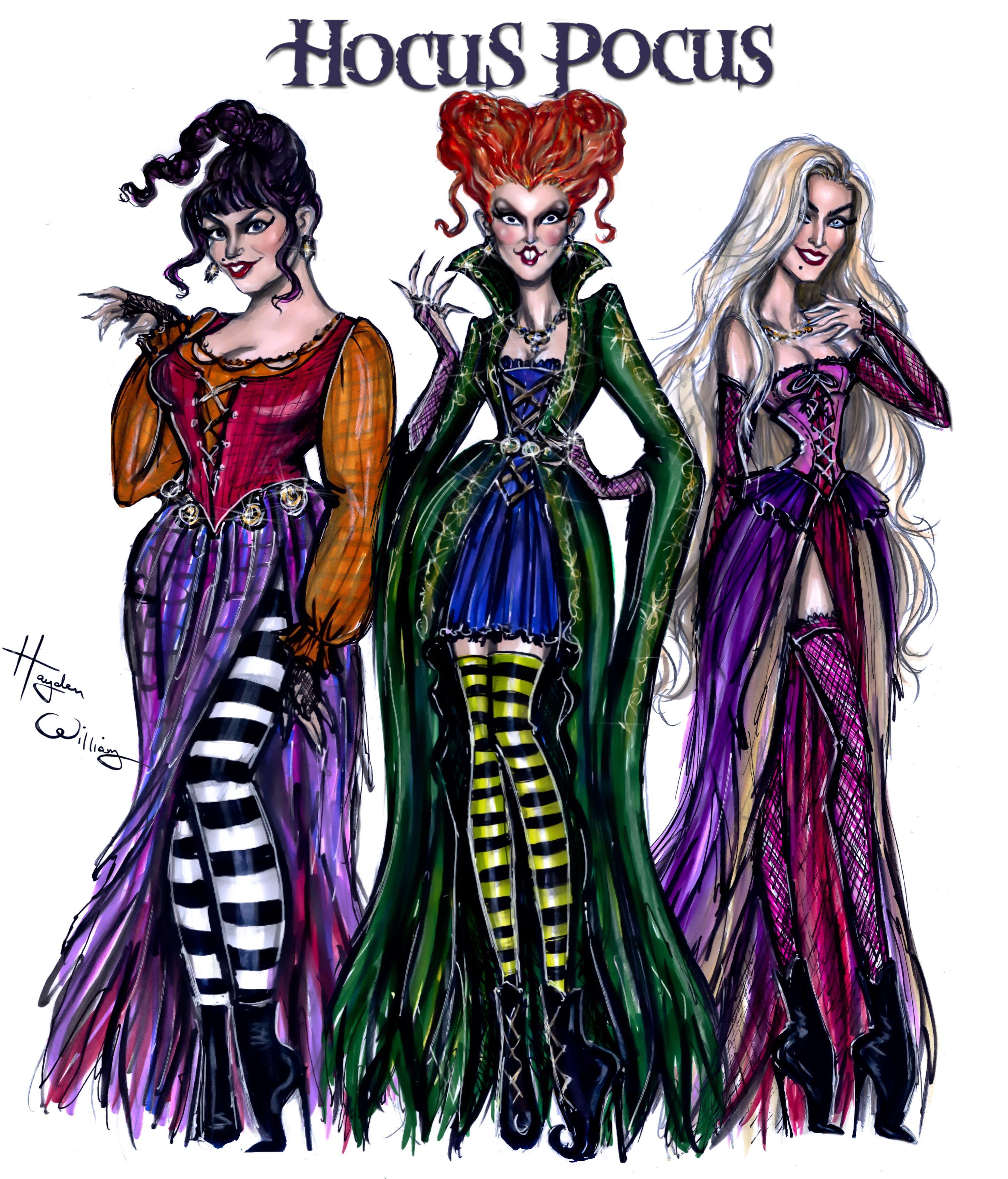 The Sanderson Sisters! #HocusPocus by Hayden Williams