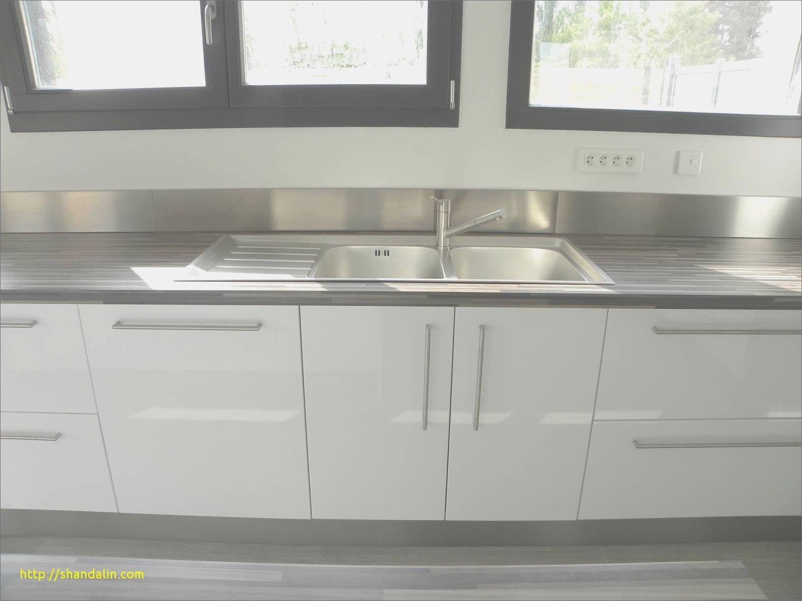Meuble Cuisine Blanc Laqué Ikea