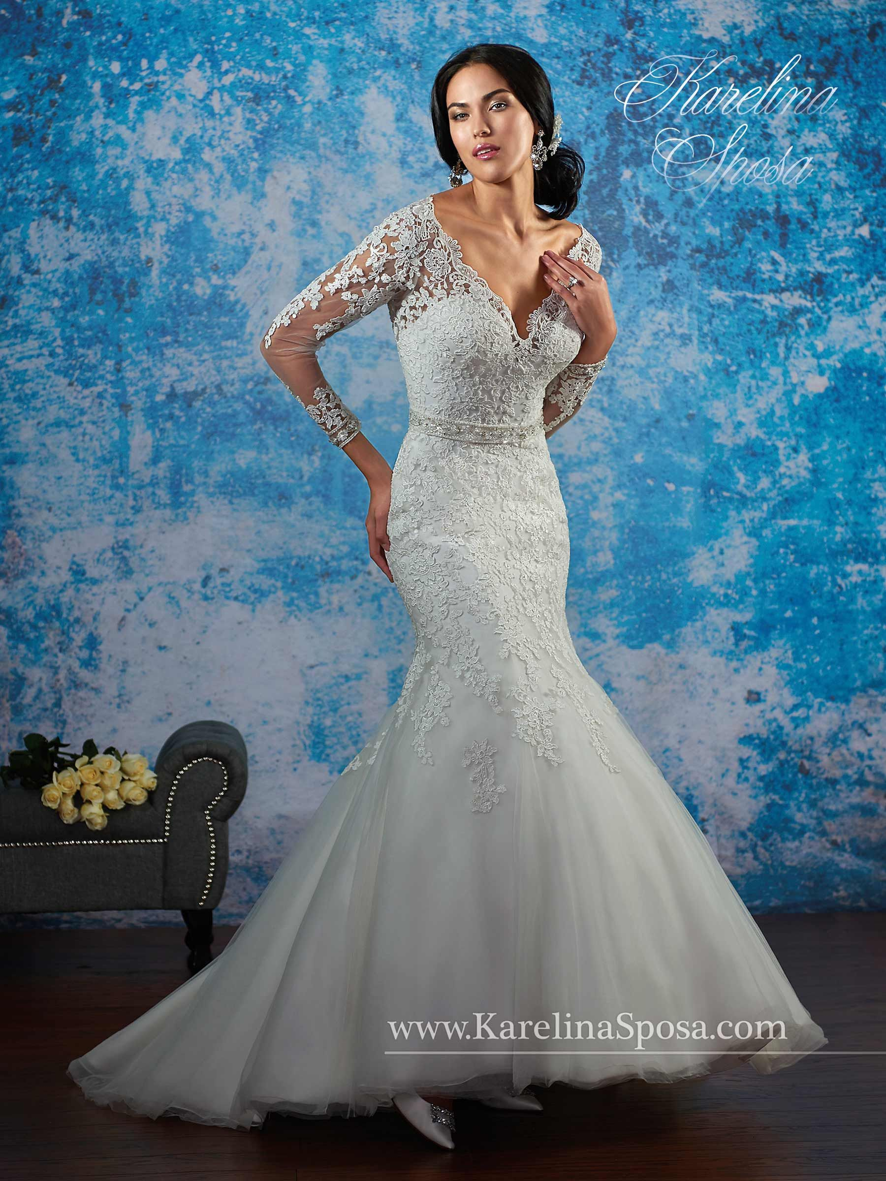 Bridal Gowns - Karelina Sposa - Style: C8080 by Mary\'s Bridal Gowns ...