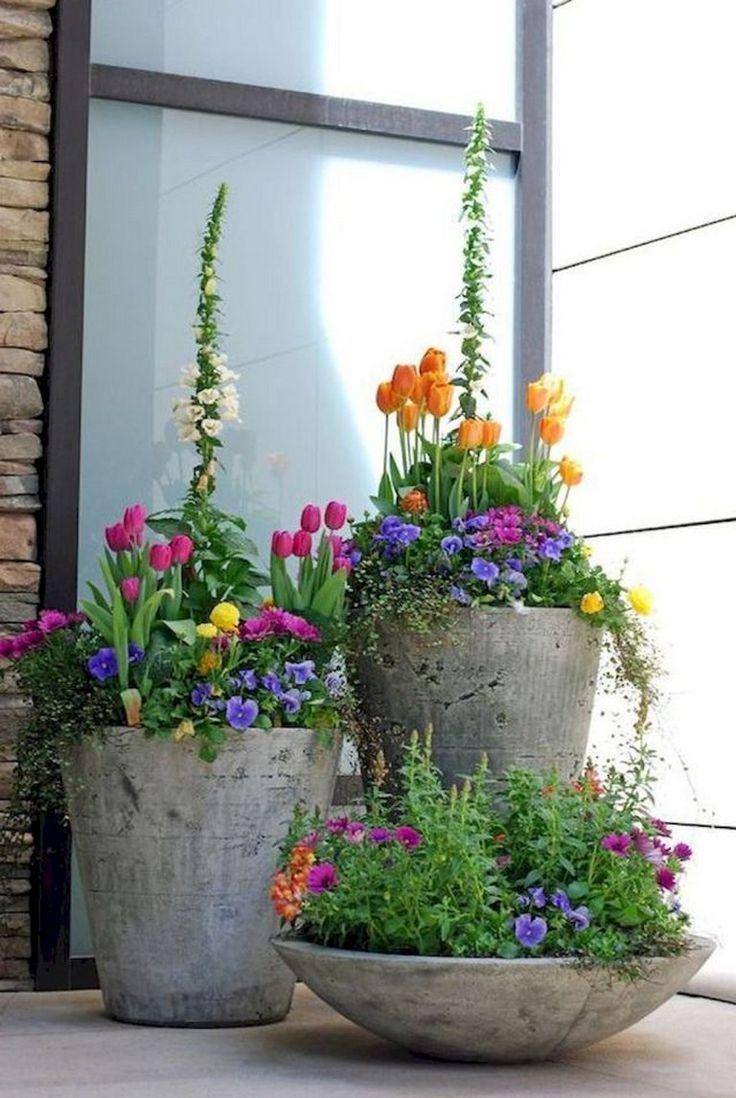 70 maravillosas ideas de jardinería #frontyard #garden #gardendesig ... - sandy