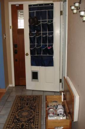 Good My Shoe Storage Solution   Small Entryway