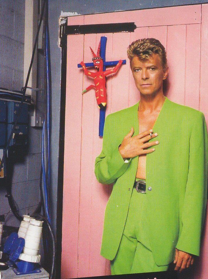 Bowie/Tin Machine, 1991. Photo by © Brian Aris.
