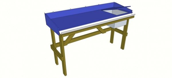 Diy Fish Cleaning Table Fish Cleaning Station Fish Cleaning Table Hobby Building