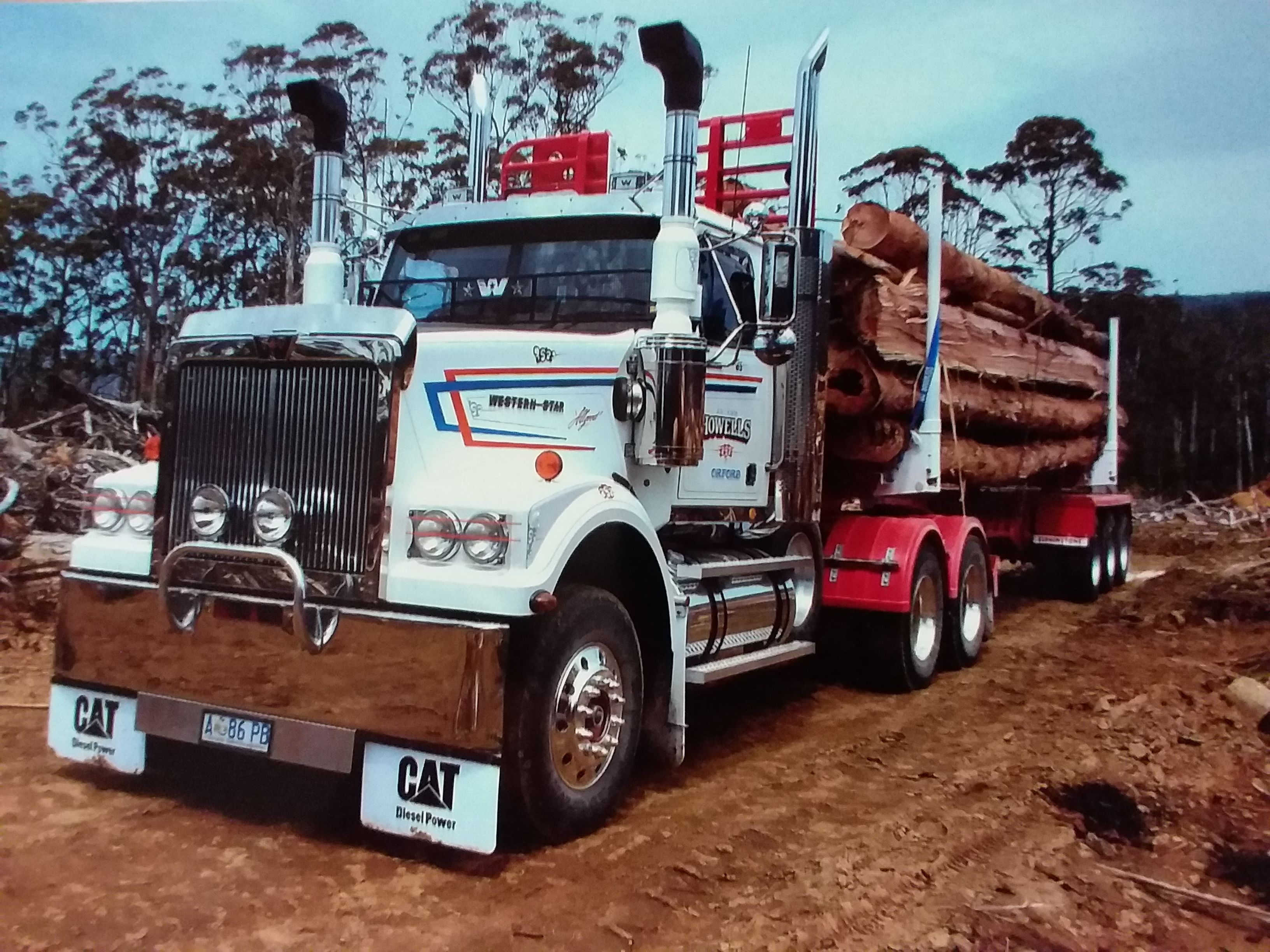 Western Star Log Truck In Australia Western Star Trucks