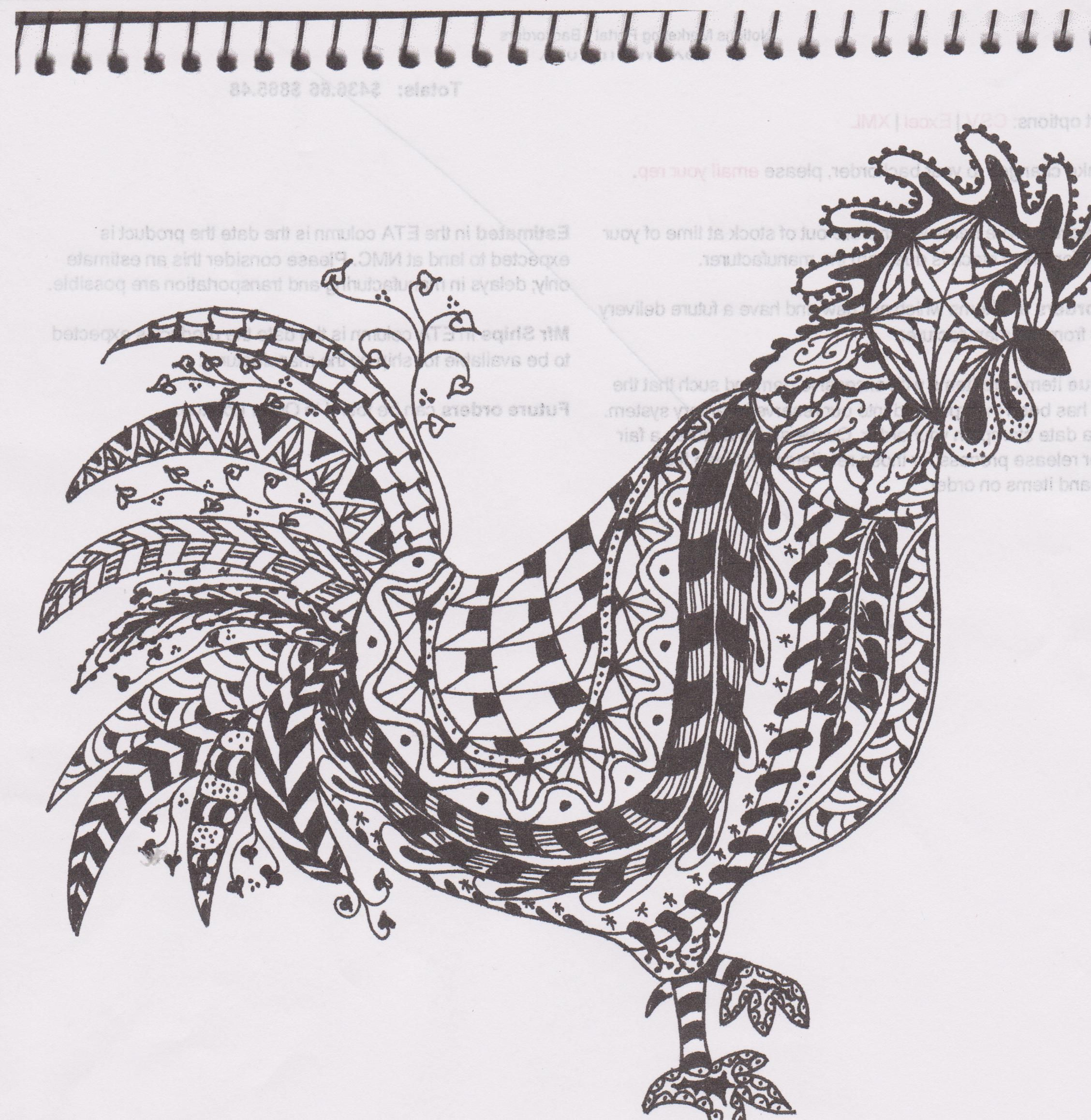 AWESOME Zentangles! This is WAY fun and can be used to