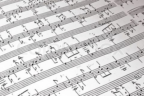 Stock Image Of Music Background Of Classical Notes Music Backgrounds Music Images Image