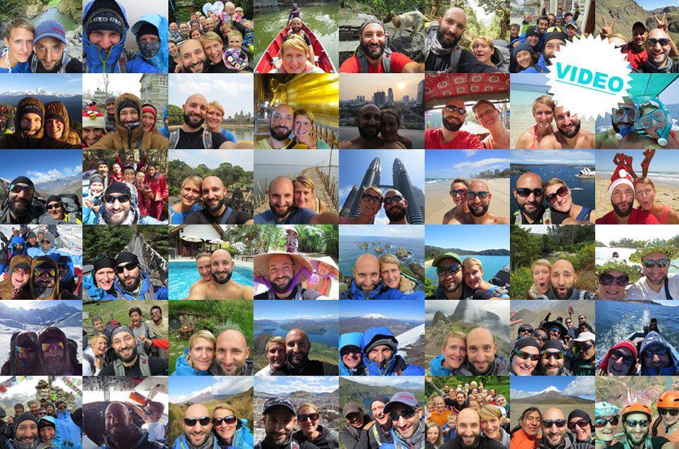 Eine Weltreise in 700 Selfies – 10 Monate & 15 Länder - TRAVELBOOK.de