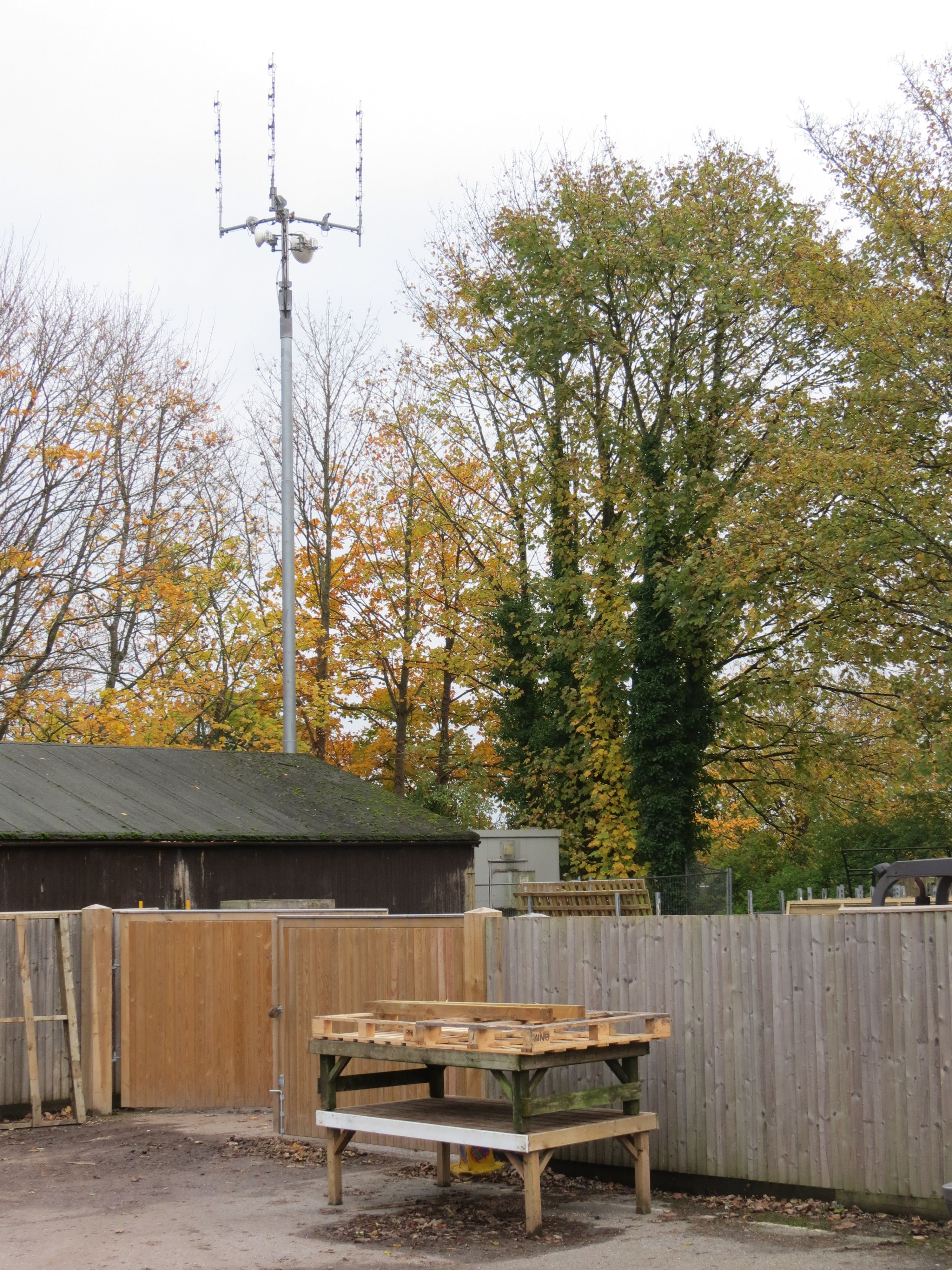 Base station 1: This is an Airwave radio antenna one of the