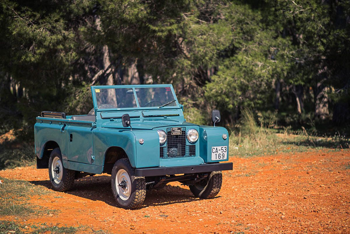 1966 Land Rover Defender 88 (Series IIA) | eBay Motors, Cars ...
