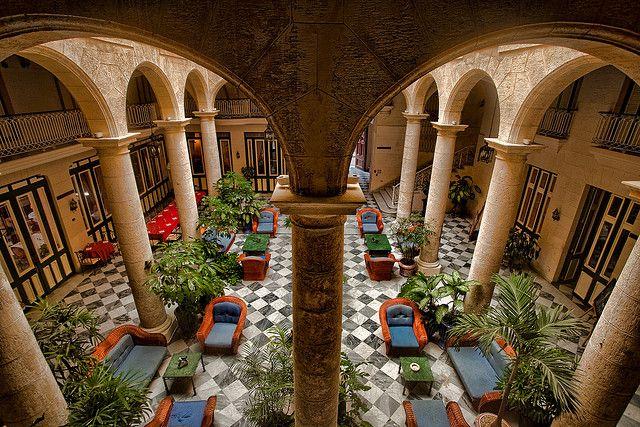 Florida Hotel Havana Interior By Flamed Via Flickr