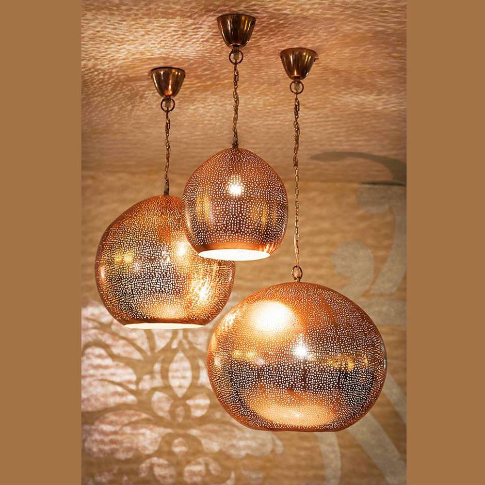 Decorative Hanging Lights Online Copper Pendant Ceiling Lamp