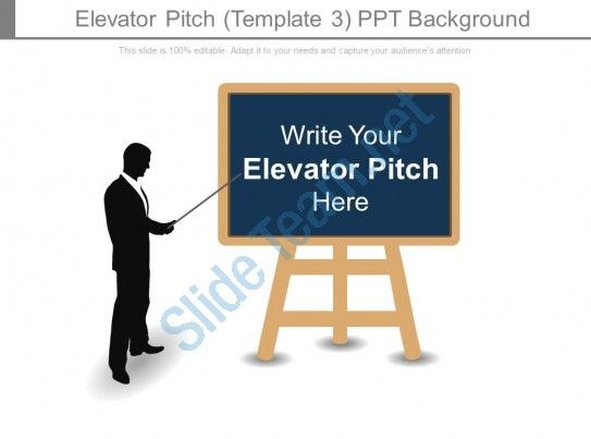 Elevator Pitch Template Ppt Background Slide  Presentation