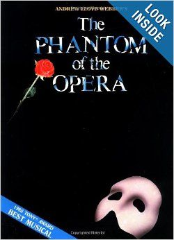 Phantom Of The Opera Souvenir Edition Piano Vocal Selections Melody In The Piano Part Andrew Lloyd Webber Phantom Of The Opera Piano Sheet Music Phantom