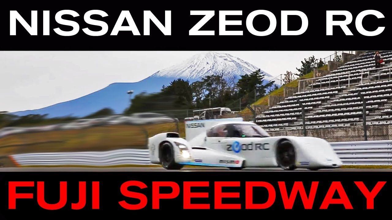 Nissan ZEOD RC Track Debut - Fuji Speedway, 20th Oct 2013.  Set against the stunning backdrop of Mount Fuji, all eyes turned to the stunning electric racecar on track, the Nissan ZEOD RC. (2013)