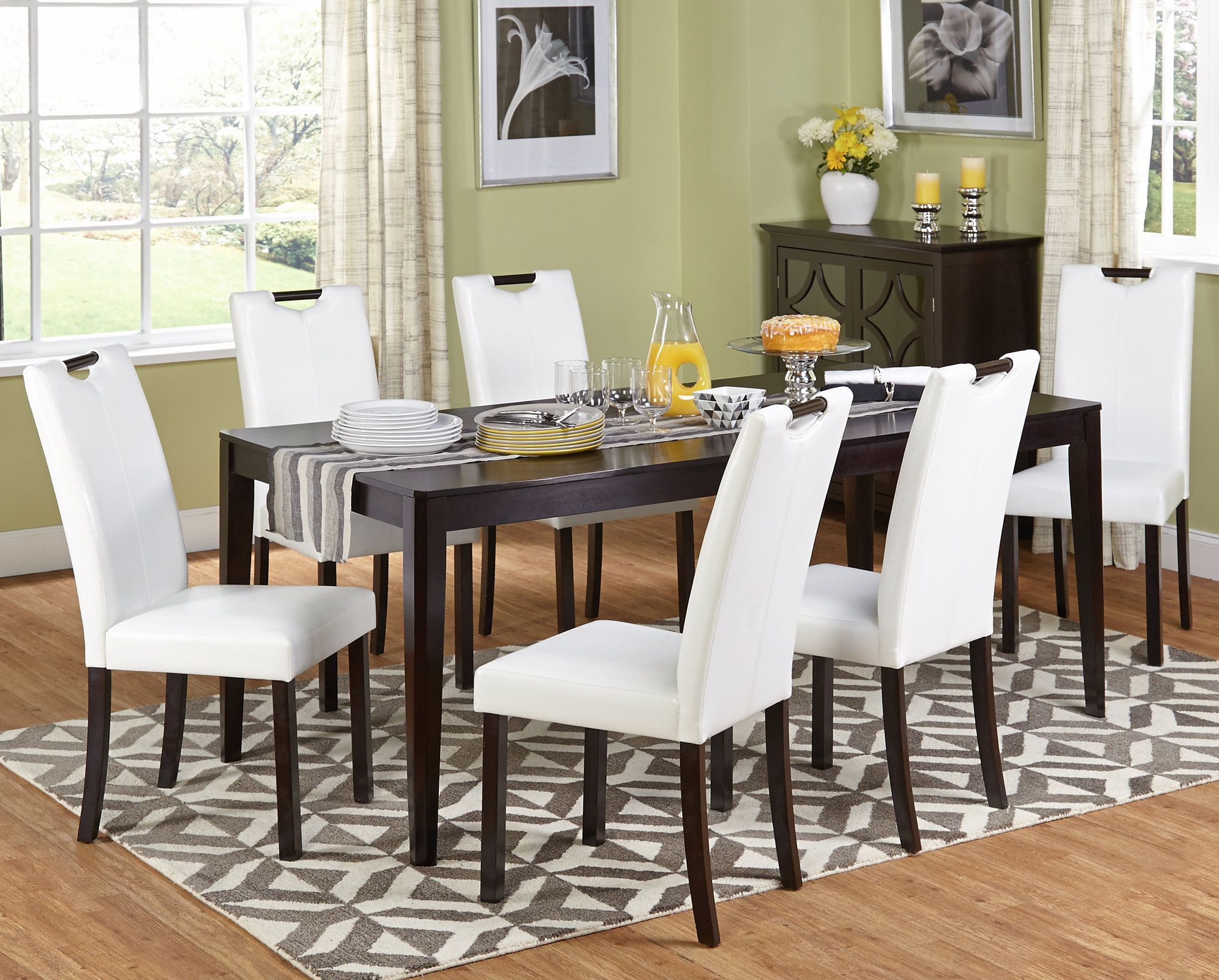 Cox 7 Piece Dining Set | Products | Pinterest