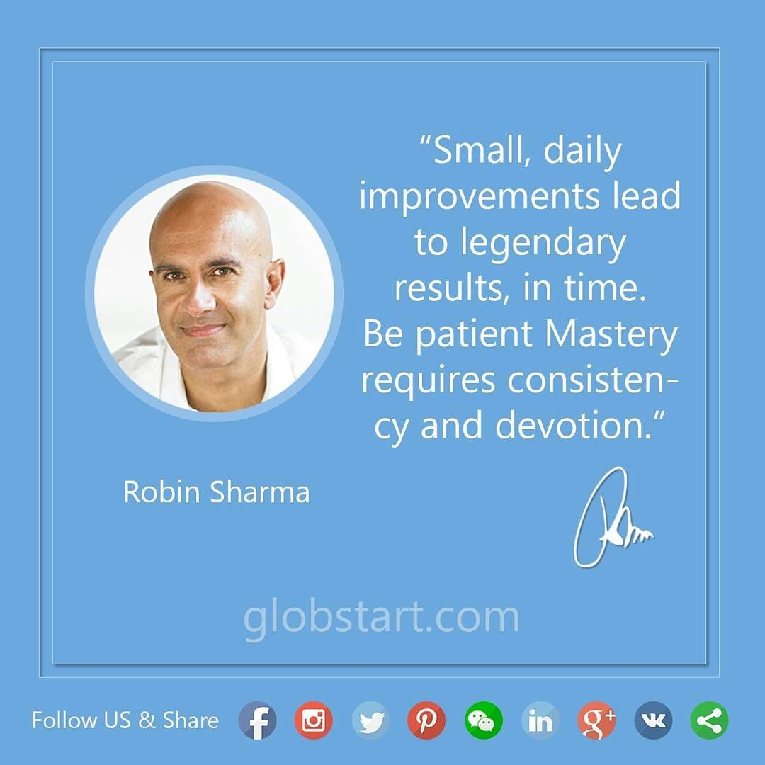 Globstart Quote From Robinsharma Every Day
