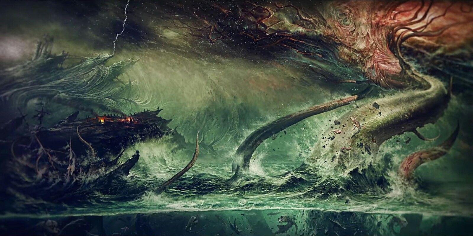 Lovecraftian Wallpaper Full Gothic Artwork Lovecraftian Lovecraftian Horror