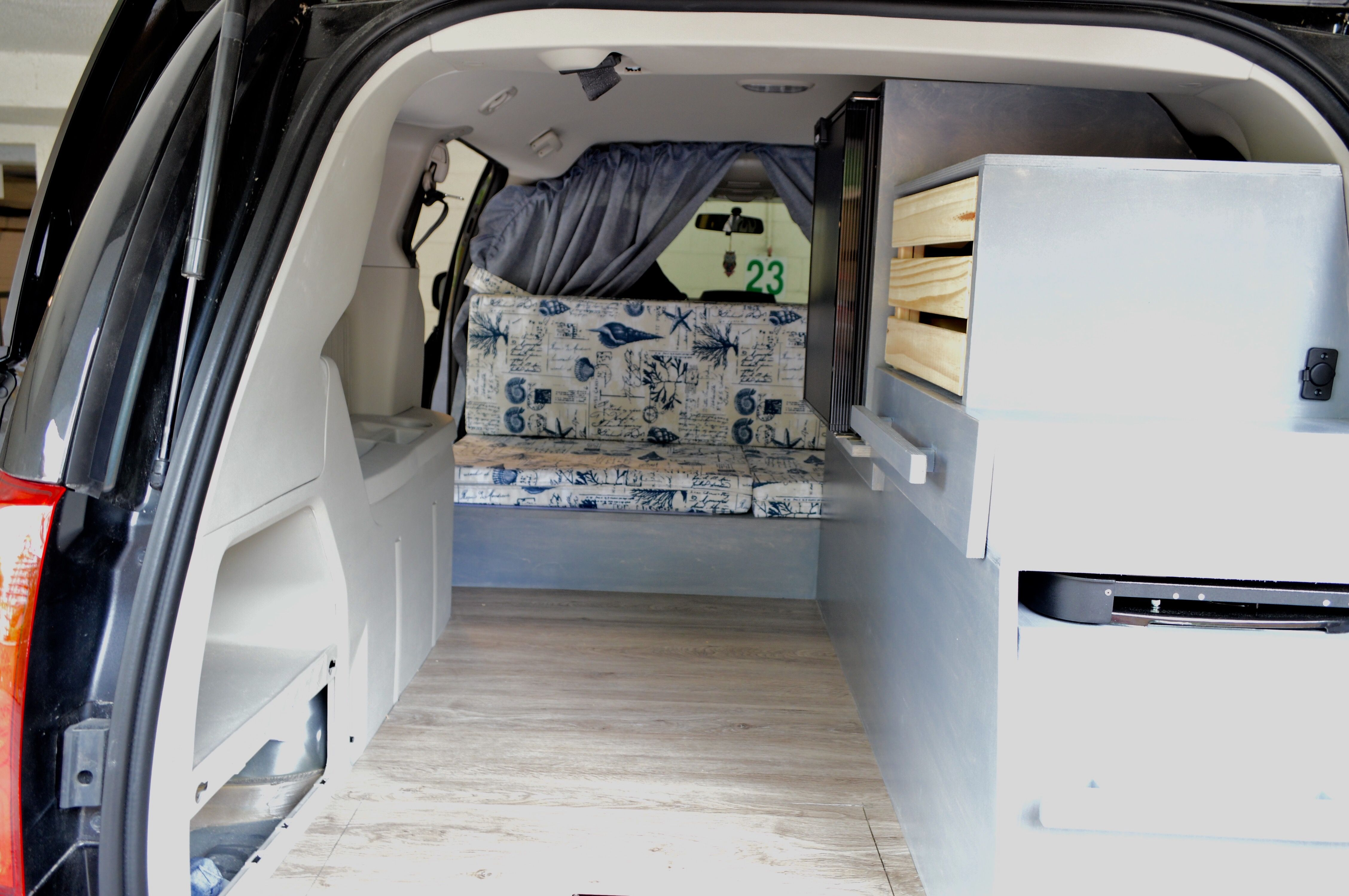 Couch Bed Cushions Are In Camper Campervan Minivancamper