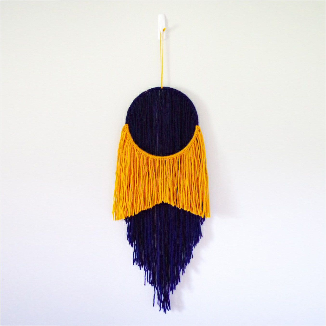 Trend alert two tone yarn wall hanging wall hangings yarns and