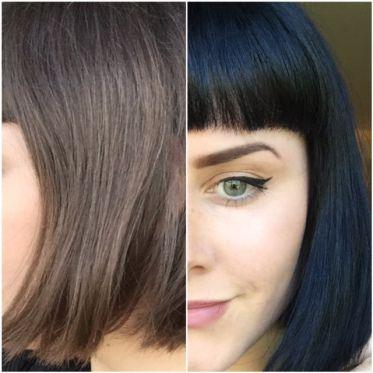 Arctic Fox Hair Dye Review Transylvania On Untreated Hair Vegan Crueltyfree Arctic Fox Hair Dye Fox Hair Dye Vegan Hair Dye