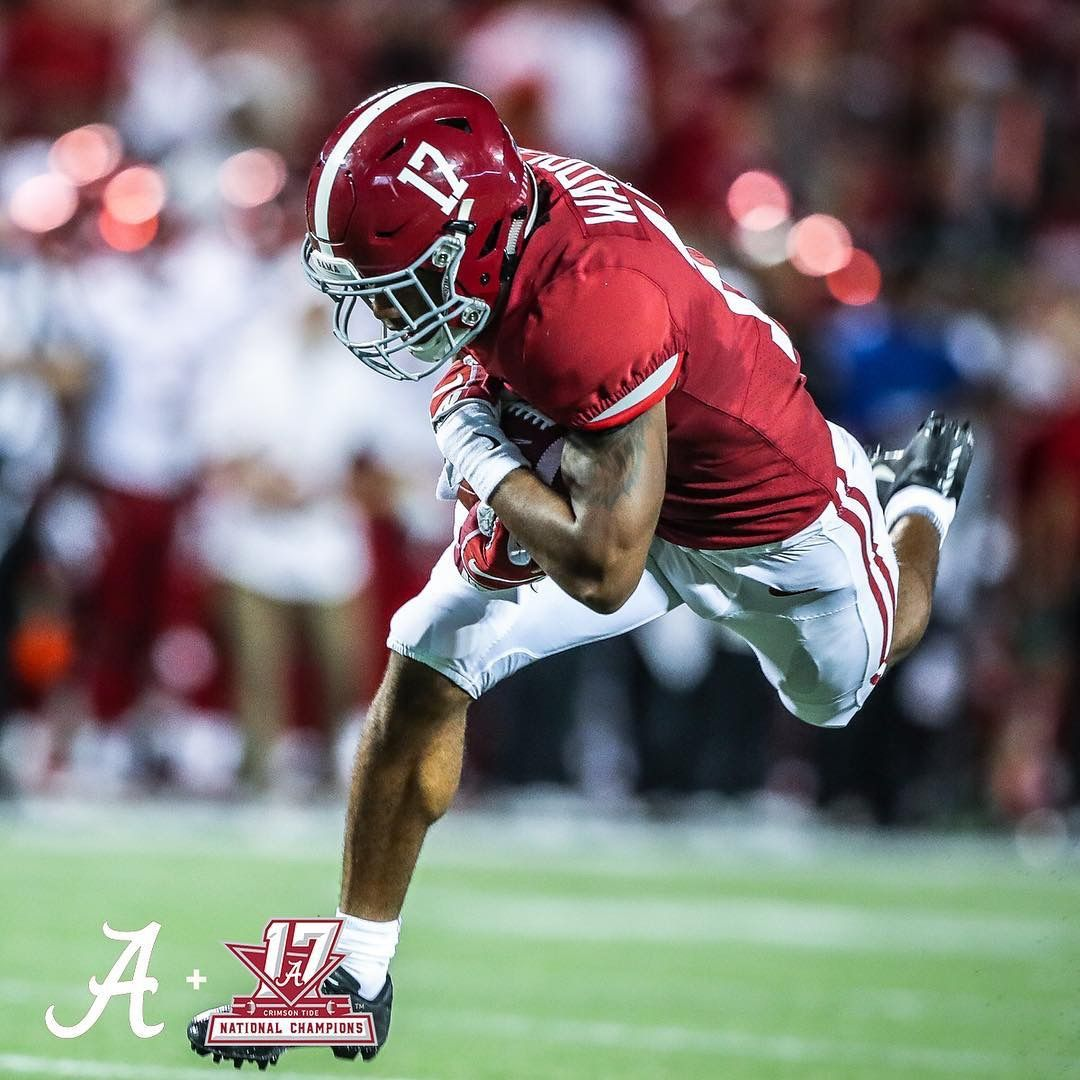 17 Jaylen Waddle Alabama Crimson Tide Football Alabama Crimson Tide Alabama Roll Tide