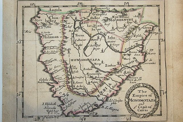 In the 1600s in the Kingdom of Motapa in southern Africa