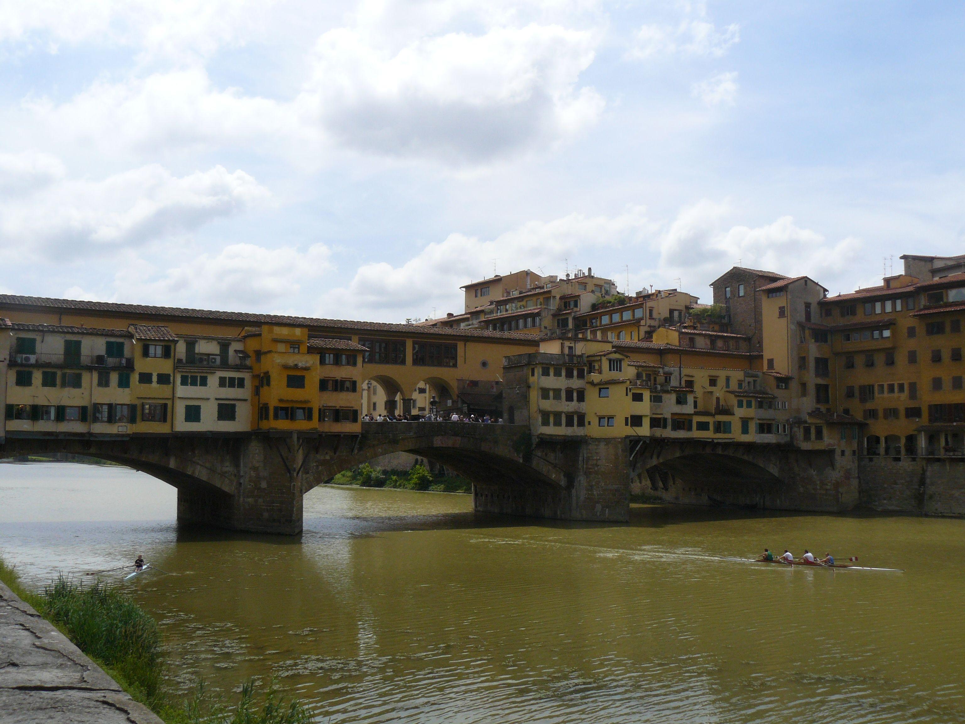Il Ponte Vecchio della città di Firenze