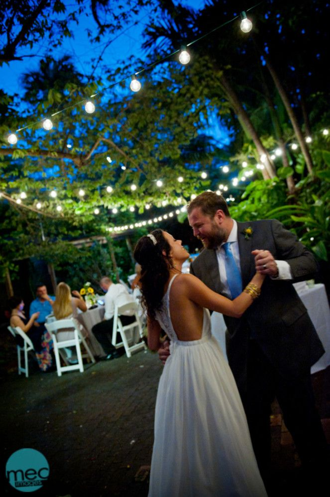 Key West Garden Club Wedding