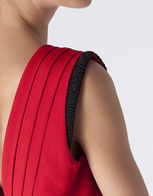 Vestido espalda descubierta   VESTIDOS   SHOP ONLINE SUITEBLANCO.COM