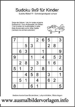 sudoku schwer kinder | sudoku, weihnachtsrätsel für kinder