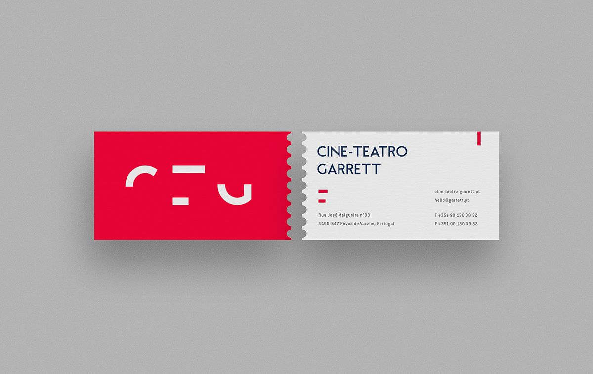 Cine-Teatro Garrett on Behance