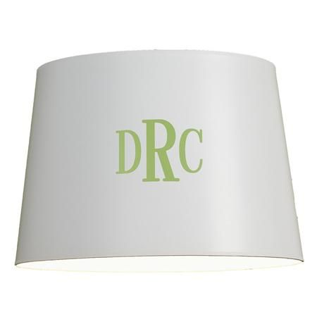 Monogrammed lamp shades for living room or bedroom living room monogrammed lamp shades for living room or bedroom mozeypictures Image collections