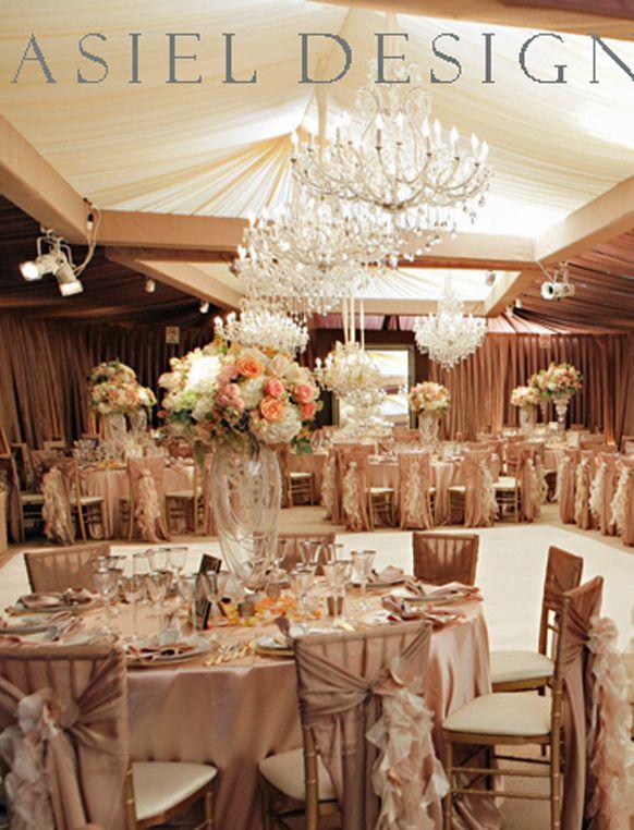 GLAMOROUS 1940\'s INSPIRED WEDDING RECEPTIONS | Glamorous Vintage ...