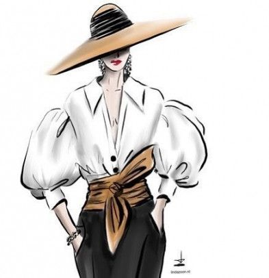 Photo of Fashion art illustration silhouettes 63+ ideas