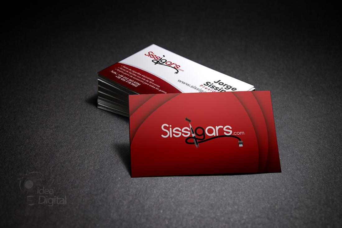 Cliente: Sissigars / Tarjetas de presentación / Propiedad Idea Digital / 2013 / #tarjetas #tarjeta  #bussinescard #card #diseño #diseñográfico #design #graphicdesign #Ventas #creative #art #business #marketing #ideadigital Visítanos en: www.ideadigital.com.ve