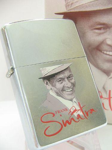 Frank Sinatra Zippo Lighter, I want to make this my next zippo.
