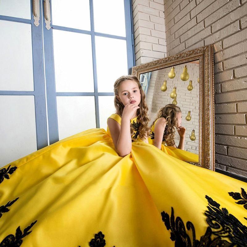 Kinder Mädchen ärmellose formale Partei Prinzessin Kleider ...