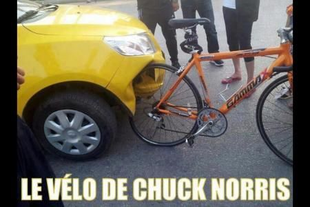 This is the bike of Chuck Norris