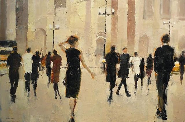 He Knew A Lady Once Contemporary Art - Lorraine Christie