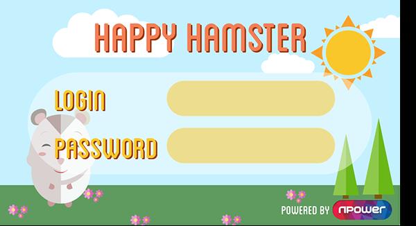 Npower Happy Hamster App on Behance by Sarah Jayne Johnson