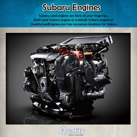 Qualityusedengines See How The Subaru Boxer Engine Compares Against The Inline V Type And Hybrid Batter Based Engines Subaru Engineering Wrx