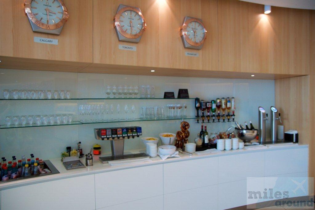 Air Canada Maple Leaf Lounge Frankfurt (Lounge Bewertung