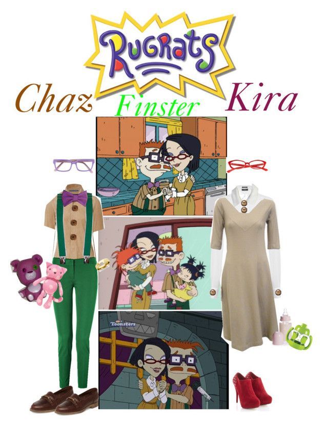 Rugrats Chaz And Kira Finster Lets Party Rugrats Polyvore