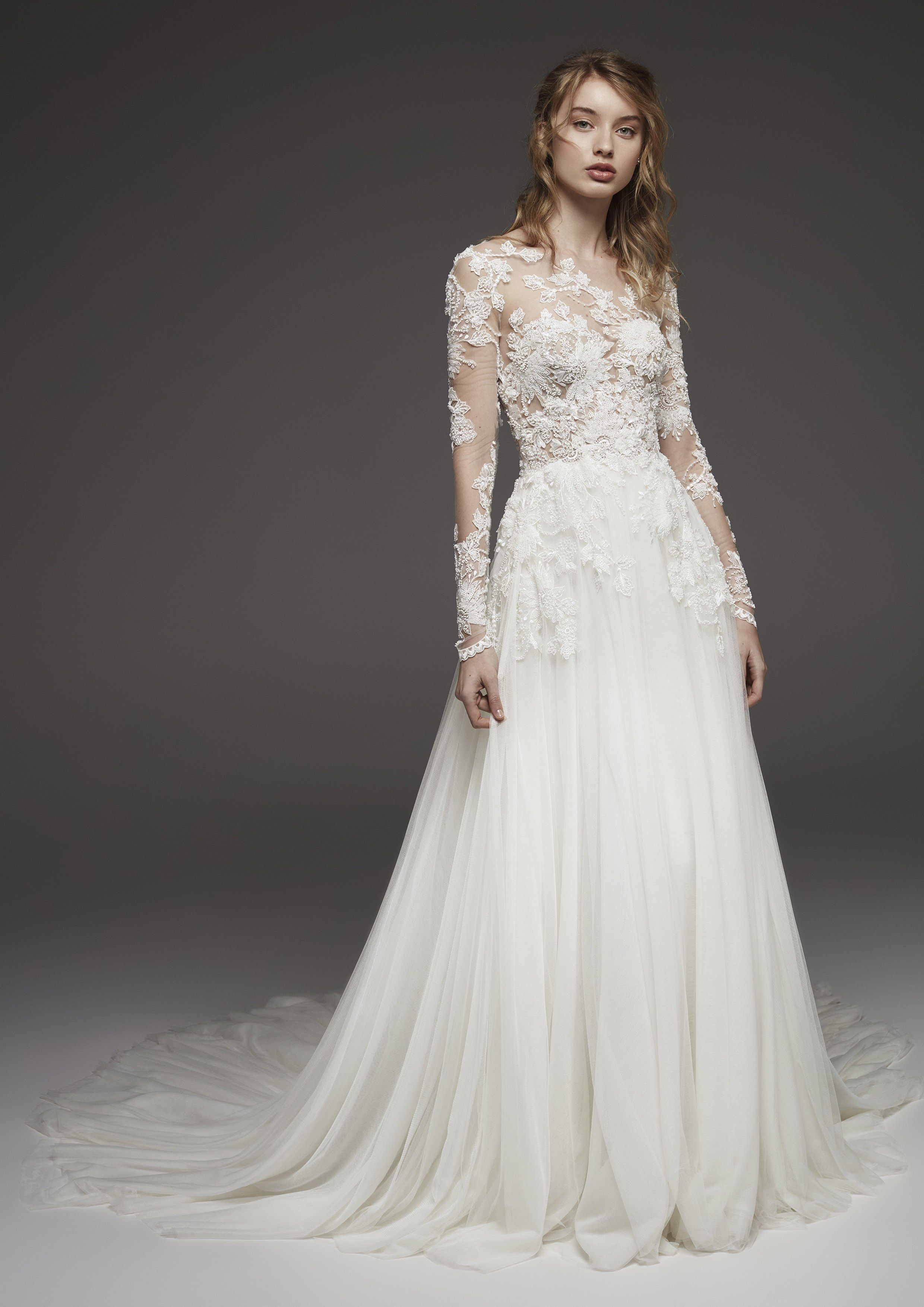 Pronovias bridal u wedding dress collection fall brides if