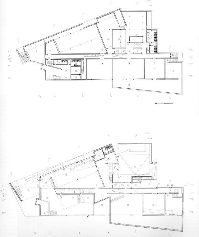 Centro Galego De Arte Contempornea Lvaro Siza 1993 Santiago De