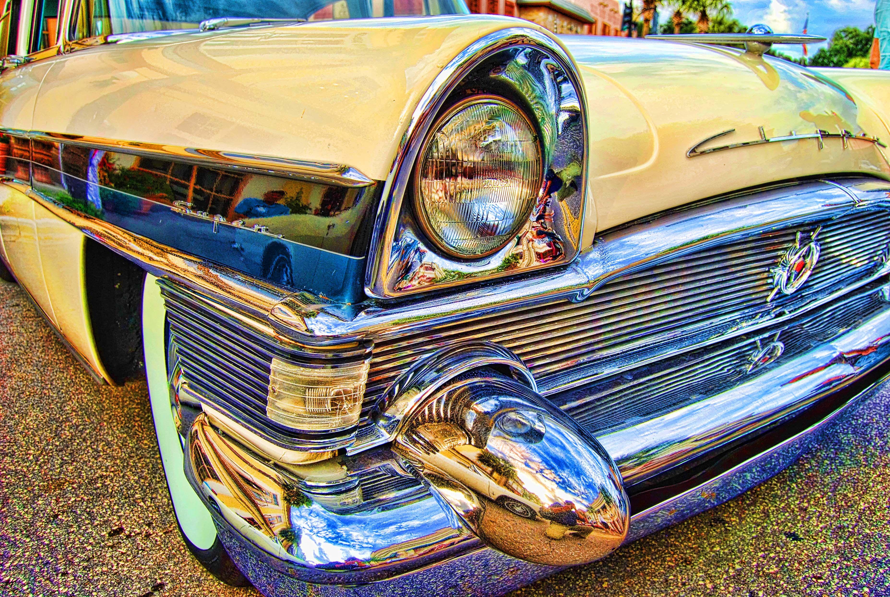 Classic Car Artwork Classic Cars Sorrentolens Chrome